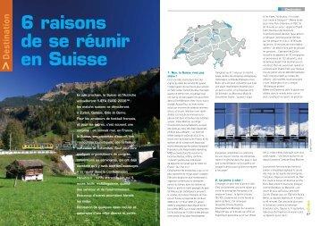 La Suisse - Réunir