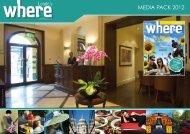 MEDIA PACK 2012 - MORRIS VISITOR PUBLICATIONS