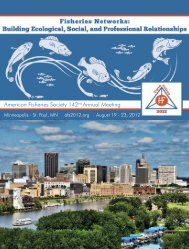 AFS 142nd ANNUAL MEETING REGISTRATION - American ...