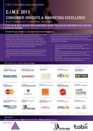 Please click here to view event programme - European Networking ...
