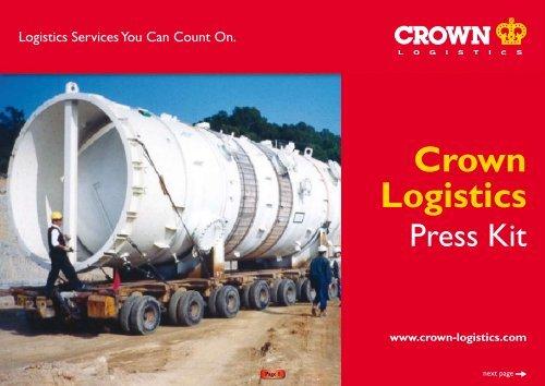 Press Kit - Crown Logistics