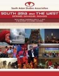 Conference Program - South Asian Studies Association