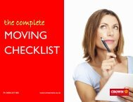 Moving Checklist.pub - Crown Relocations