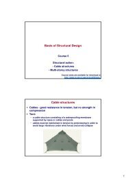 Basis of Structural Design Cable structures