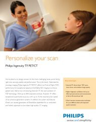 Ingenuity TF PET/CT product overview - Philips Healthcare