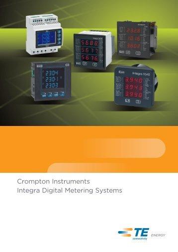 Crompton Instruments Integra Digital Metering Systems