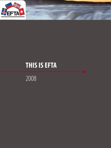 THIS IS EFTA 2008
