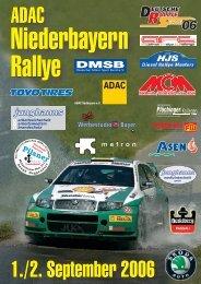 Niederbayern Rallye Niederbayern Rallye - AvD Niederbayern Rallye