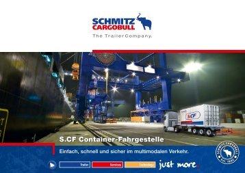 S.CF Container-Fahrgestelle - Schmitz Cargobull AG