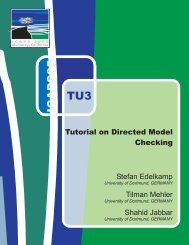 Directed Model Checking - icaps 2005
