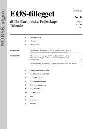 NORSK utgave - EFTA
