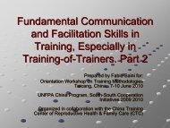 Fundamental Communication and Facilitation Skills in Training ...