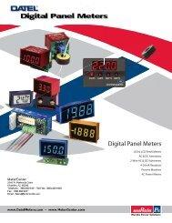 Digital Panel Meters - DatelMeters.com