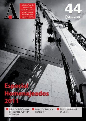 descargar revista PDF - Colegio Oficial de Aparejadores ...