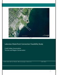 Lakeview Waterfront Connection Feasibility Study - Credit Valley ...