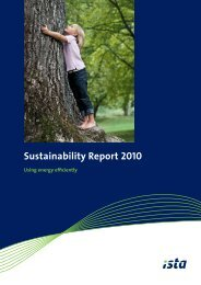 Sustainability programme - ista International