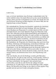 Ansprache Verabschiedung Lena Zacheus Liebe Lena, nein, es ist ...