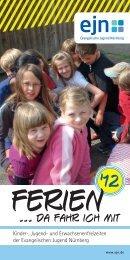 ejn-Ferienprospekt 2012 - Evangelische Jugend im Dekanatsbezirk ...
