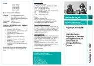 Projekttage in der EJBW: Entschlüsselungen