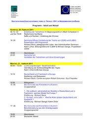 Veranstaltungsplan als PDF - Europäische Jugendbildungs