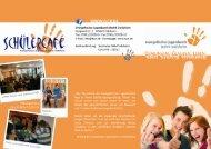 Flyer Jugendwerk - Evangelisches Jugendwerk Bezirk Crailsheim