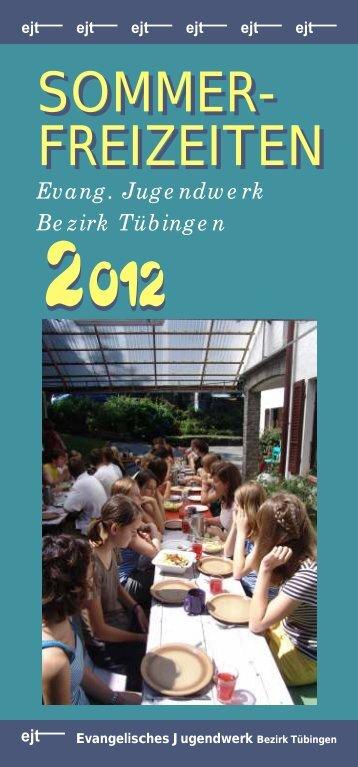 Freizeitprospekt 2012.pdf - Evangelisches Jugendwerk Bezirk ...