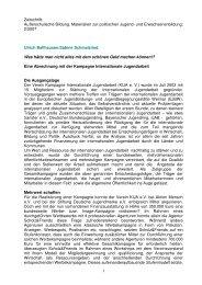 Ulrich Ballhausen/Sabine Schmalzried - Europäische Jugendbildungs