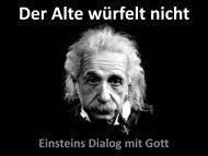 Vortragspräsentation als PDF - Einstein Forum
