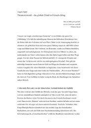 Theatrum mundi - Einstein Forum