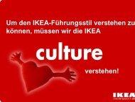 Das Entstehen der IKEA Werte