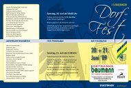 Sonntag, 21. Juni ab 11:00 Uhr - Eigeltingen