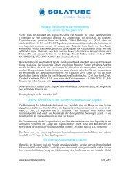 Solatube: Die Garantie für die Höchstleistung Den Ganzen Tag. Das ...