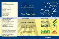 Sonntag, 26. Juni ab 11:00 Uhr - Eigeltingen