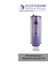 Heat Transfer Technology ECOTHERM