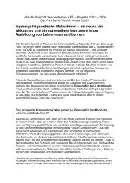 Eignungsdiagnostische Maßnahmen – ein neues, ein wirksames ...