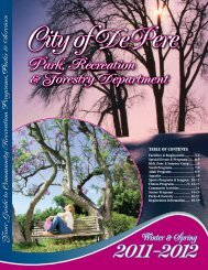 2011-12 Winter-Spring-WEB:2005-06 Fall & Winter ... - City of De Pere