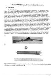 The PAXARMS Biopsy System for Small Cetaceans