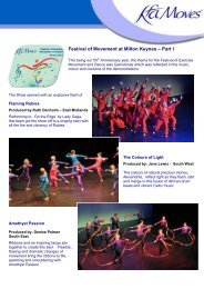 Festival of Movement 2012 - Part I - Keep Fit Association