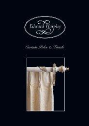 Curtain Poles & Finials - Edward Harpley
