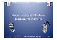 International Handball Federation - IHF