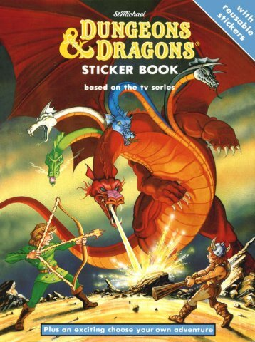 Dungeons and Dragons Sticker Book