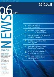 Volume 13 Issue 1 (pdf, 352 - Eicar
