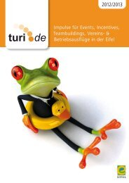 Gruppenbroschüre 2012 [PDF, 8.9 MB] - Tourist Information ...