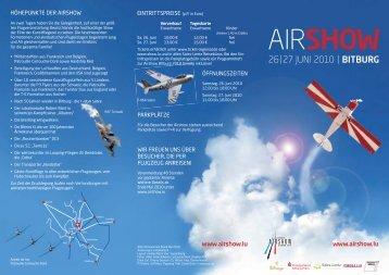 AIRSHOW - Tourist Information Bitburger & Speicherer Land