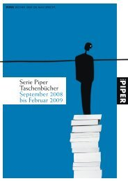 Bestseller des Monats - Piper Verlag GmbH