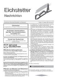 Oktoberfest Konzert der Musikschule 40-jähriges Vereinsjubiläum ...