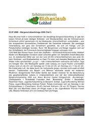2000 Bürgerschützenkönige - Schützenverein  Eichenlaub Lohhof