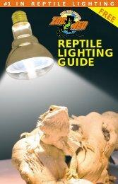 reptile lighting guide reptile lighting guide - C & C Tropical Paradise ...
