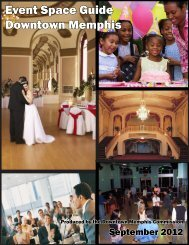 Event Space Guide Downtown Memphis
