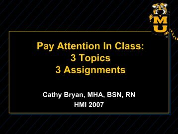 a copy of Cathy's slides